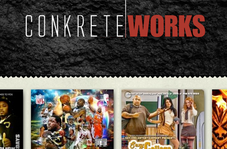 Conkrete Works Website Design