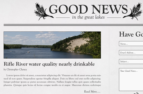 Good News Great Lakes Web Design